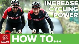 How To Boost Your Power On The Bike | GCN Pro Tips
