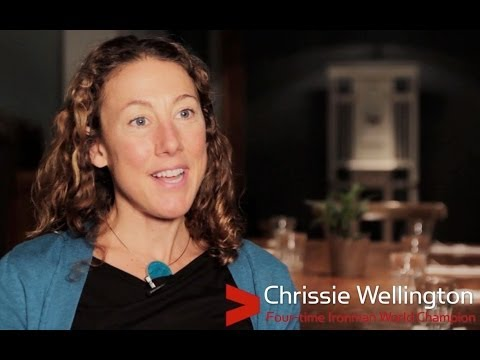 Exclusive video interview with Chrissie Wellington