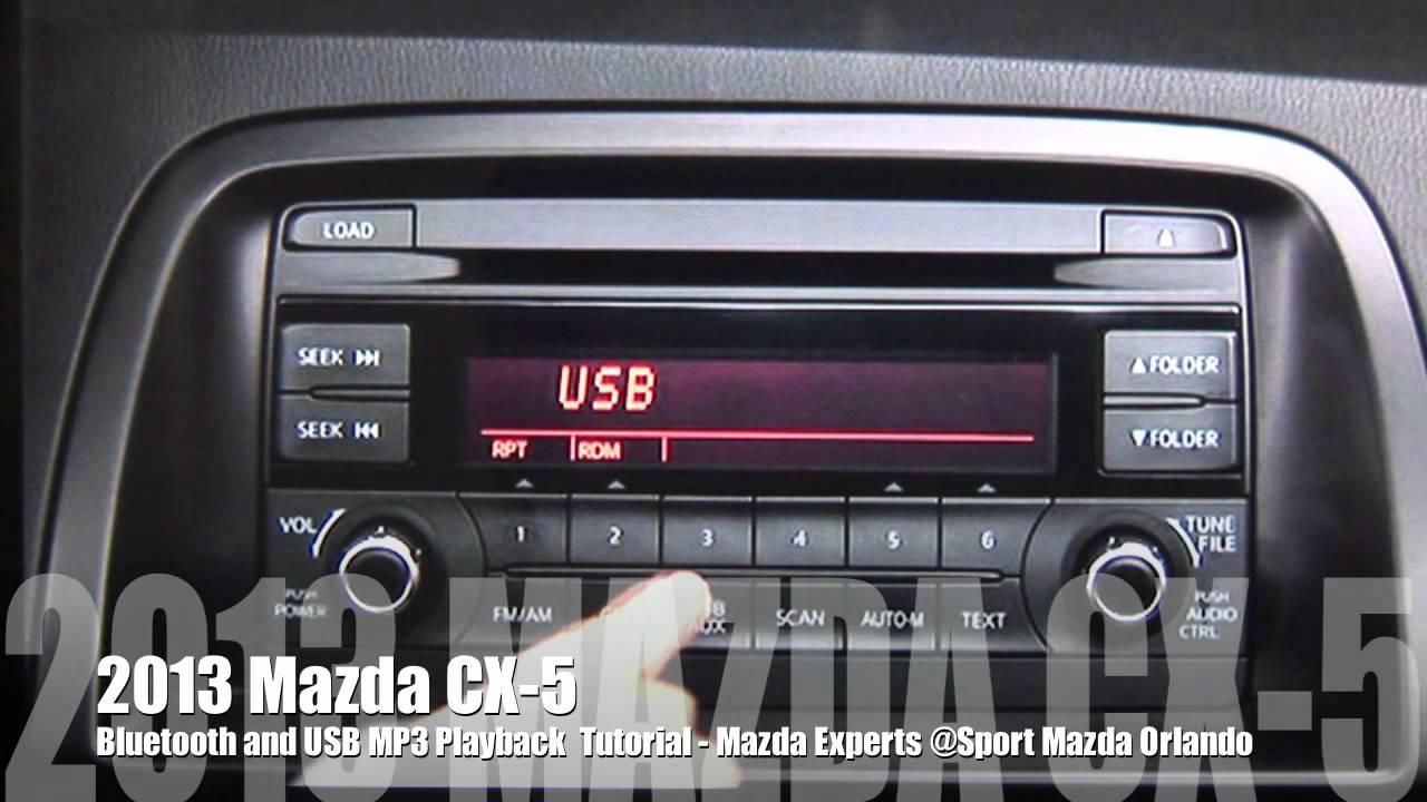 2013 Mazda Cx 5 Iphone Bluetooth Amp Usb Setup Youtube