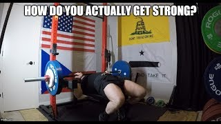 Training For Maximum Strength - What Does That Mean?