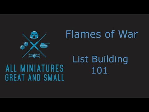 Flames of War List building 101