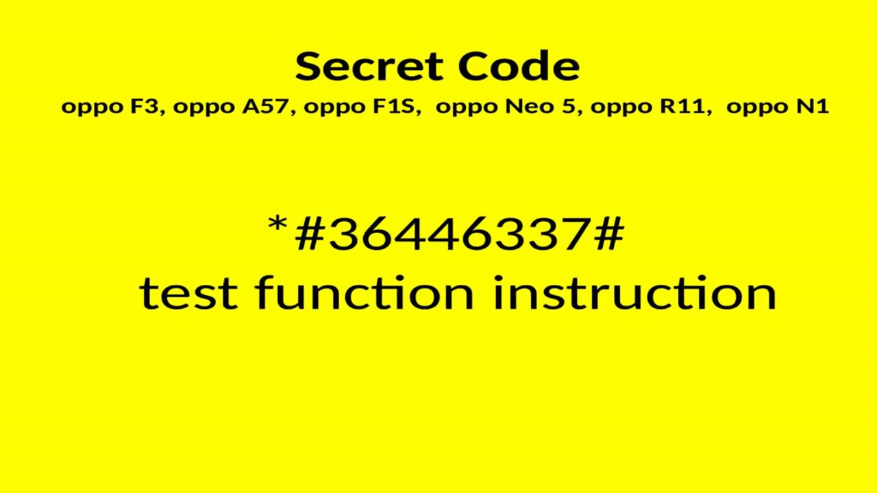 Oppo F1s Codes Videos - Waoweo