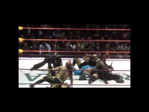 Los Piratas Morgan vs Hijo de Rey Misterio Joe Lider & Mortiz 2012 Tijuana RESUMEN! by DiiBeR