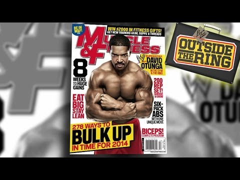 Behind the Scenes at David Otunga's Muscle & Fitness cover shoot - Outside the Ring - Ep. #42