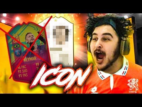 PEDI O NEYMAR E RECEBI UM ICON! PACK OPENING FIFA 19 Ultimate Team thumbnail