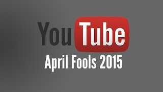 YouTube April Fools 2015 - Add Music Button that plays Darude: Sandstorm