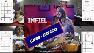 Repeat youtube video Cifra Infiel - MARÍLIA MENDONÇA -Versão Pagode - Cavaco