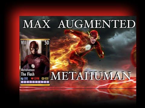 Injustice; MAX AUG METAHUMAN FLASH