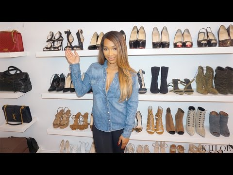 XOXO: Malika Built Her Own Closet!!!   YouTube