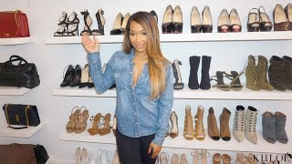 XOXO: Malika Built Her Own Closet!!!