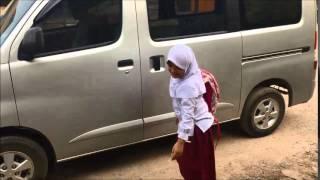 Alya Pulang Sekolah, Selamat Ultah yang Ke 9 Alya..
