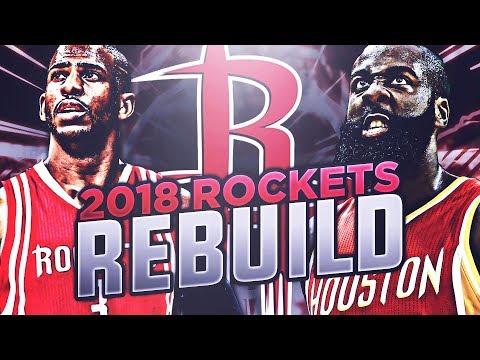 BANANA BOAT SQUAD IN HOUSTON! 2018 ROCKETS REBUILD! NBA 2K17