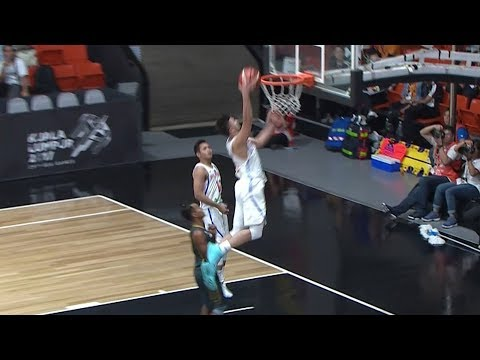 Kobe Paras went on a dunking spree against Myanmar! | SEA Games 2017