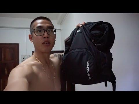 VOYAGER en valise ou sakado ?