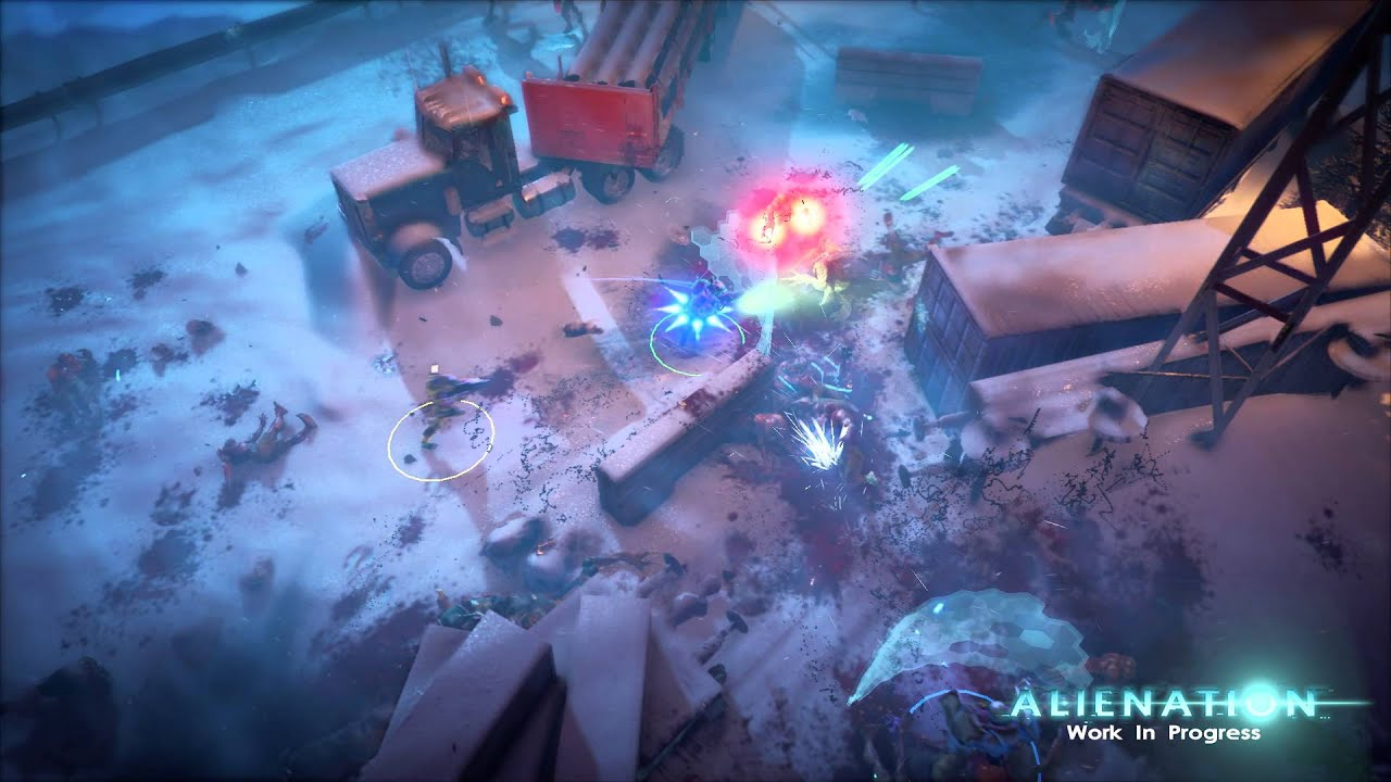 Alienation Wallpaper Games