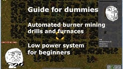 Factorio - Guide for dummies - Advanced Automated burner