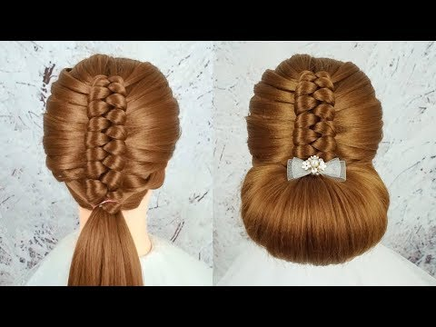 Cute And Easy Braided Hairstyle Tutorials - Amazing Hairstyle Transformation | Braid Hairstyles 2019 thumbnail