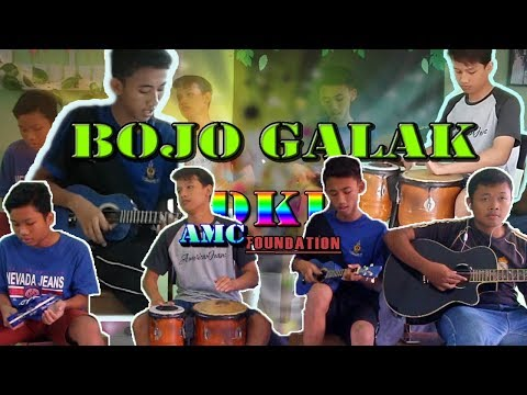 Bojo Galak cover Gendang kentrung ll AMC Foundation