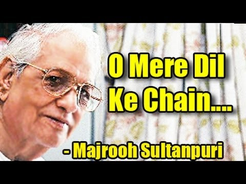 Majrooh Sultanpuri Majrooh Sultanpuri Biography The Legend Poet of Indian Cinema