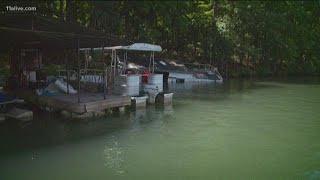 Dangers lurk in the waters of Lake Lanier