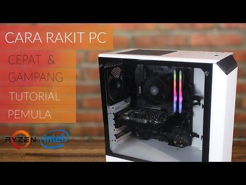 Cara Merakit PC untuk Pemula + Instalasi Windows - Guide & Tutorial PC Rakitan