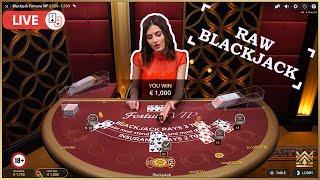 ♣️ 1000€ vs. Blacĸjack Fortune VIP Live Casino Session ♣️