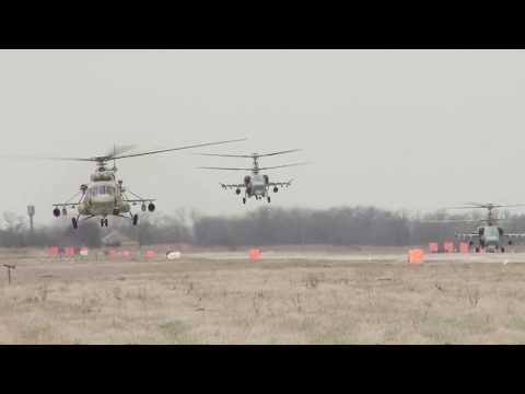 Тренировка по управлению авиацией и противовоздушной обороной на Юге России