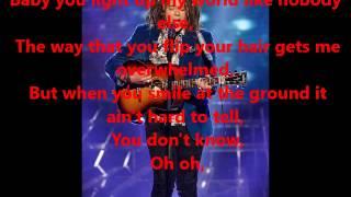 what makes you beautiful luke friend lyrics