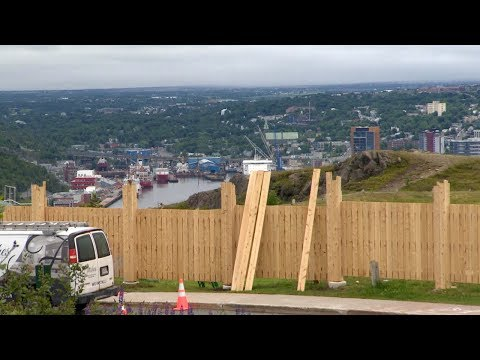 Signal Hill Fence Removed Amid Backlash In St. John's