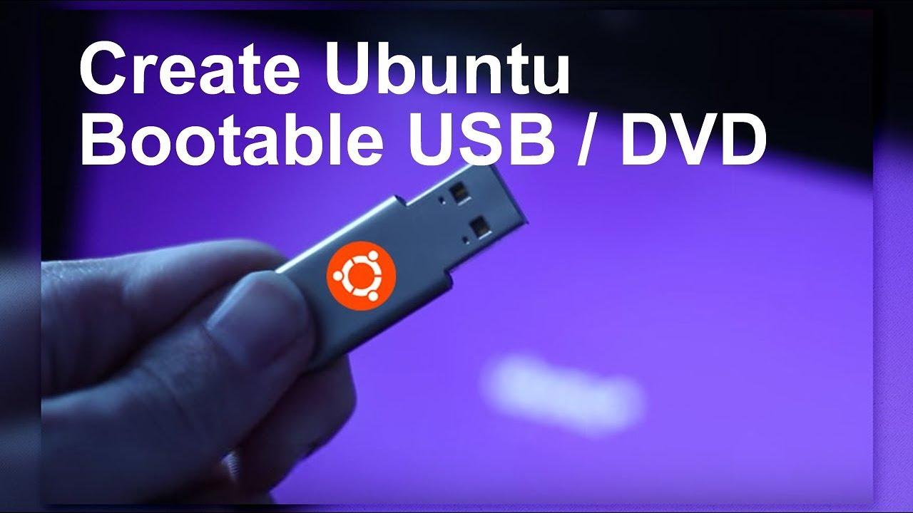 Ubuntu bootable dvd