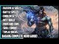 New Hero Badang Complete Guide! Best Build, Spells, Skill Combo, Tips & Tricks | Mobile Legends