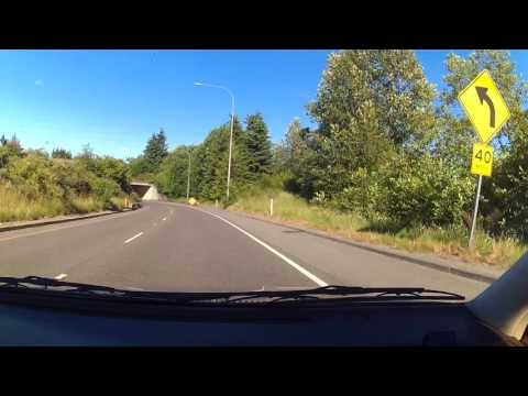 Driving in Everett Washington.  Camera Test