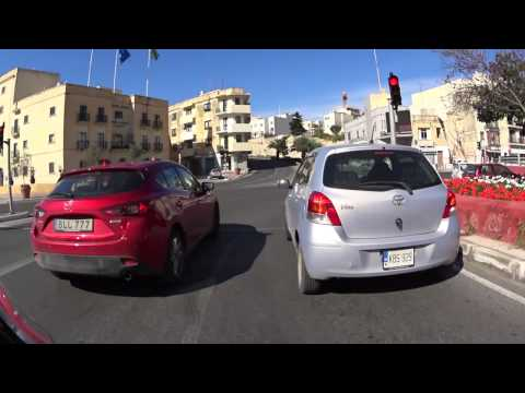 A Finn driving around Malta with Honda CB500X