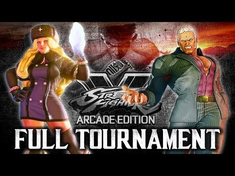 Street Fighter V: Arcade Edition - Stun City 2018 - Full Tournament! [TOP4 + Finals]