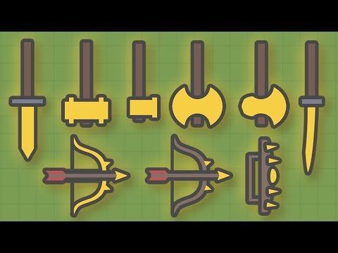 MOOMOO.IO - NEW GOLDEN WEAPONS & TOOLS! NEW GOLD WEAPONS UPDATE! (Moomoo.io Update)