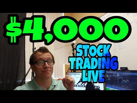 $4,000 Profit In 20 Minutes Day Trading Stocks Live | Penny Stocks 2018