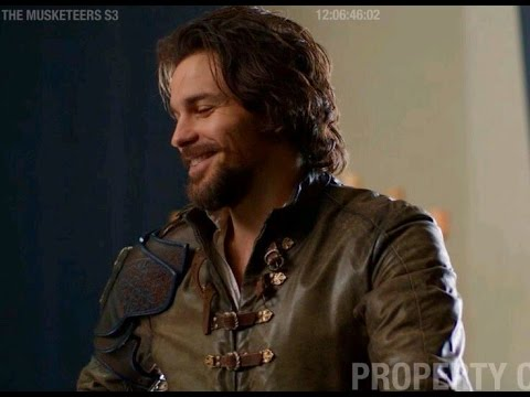 The Musketeers Interview met Santiago Cabrera BBC