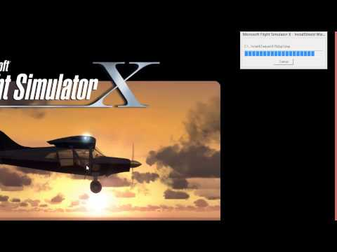 Flight Simulator X Gold Installation on Windows 8
