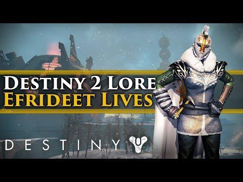 Destiny 2 Lore - Efrideet Lives! The Story of Efrideet in Destiny 2!