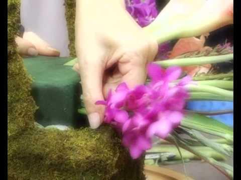 การจัดดอกไม้สด