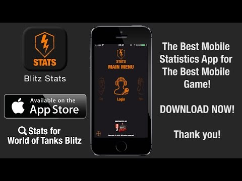 Stats for World of Tanks Blitz - Blitz Stats iOS App Preview