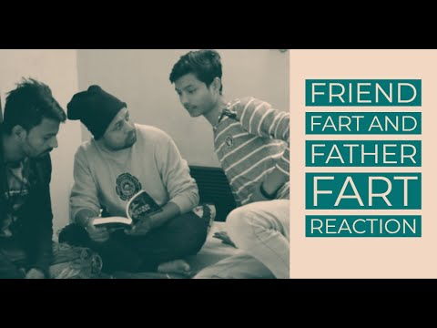 Friend Fart and Father Fart Reaction | Funny Comedy | एक बार ज़रूर देखना | Paji Huslo
