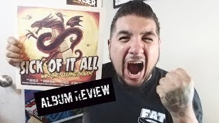 """Album review- Sick Of It All """"Wake The Sleeping Dragon"""""""