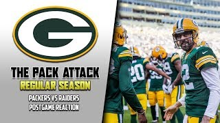Packers Are ROLLING - Packers vs Raiders Post Game Reaction
