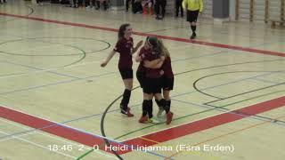 Naisten futsal-liiga 2017-2018 / Ylöjärven Ilves vs. MuSaFutsal maalikooste 10.02.2018