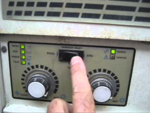 Purex Pentair Minimax Pool Heater Troubleshooting And Repair