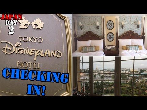 Japan Trip Day 2 - Checking in to Tokyo Disney Hotel and Ikspiari (Downtown Tokyo Disney) [GoPro]