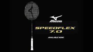 mizuno badminton racket speedflex 7 0