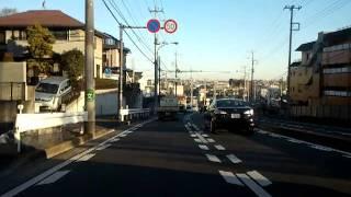 ドライブ動画 県道45号線 丸子中山茅ヶ崎線 2/3