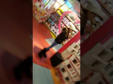Allie sherlock sings in Hamleys toy shop London